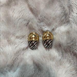 David YURMAN classic Shrimp earrings
